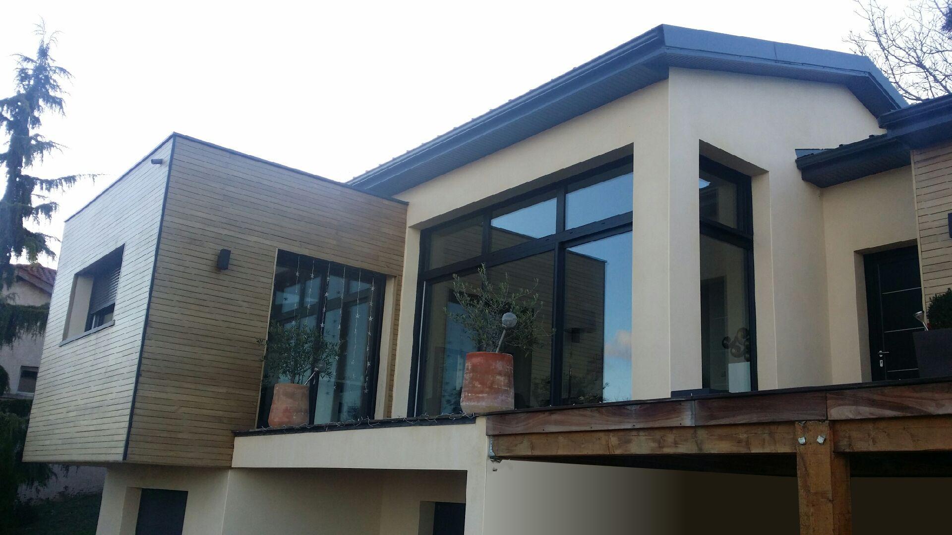 Maison Contemporaine Toit Terrasse construction de maison avec toit terrasse mâcon 71 - concept