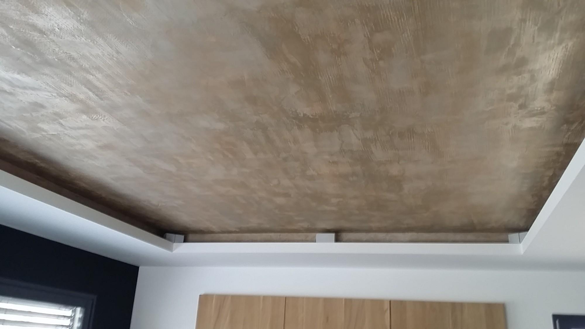 Plafond stylé réalisé par une artiste peintre