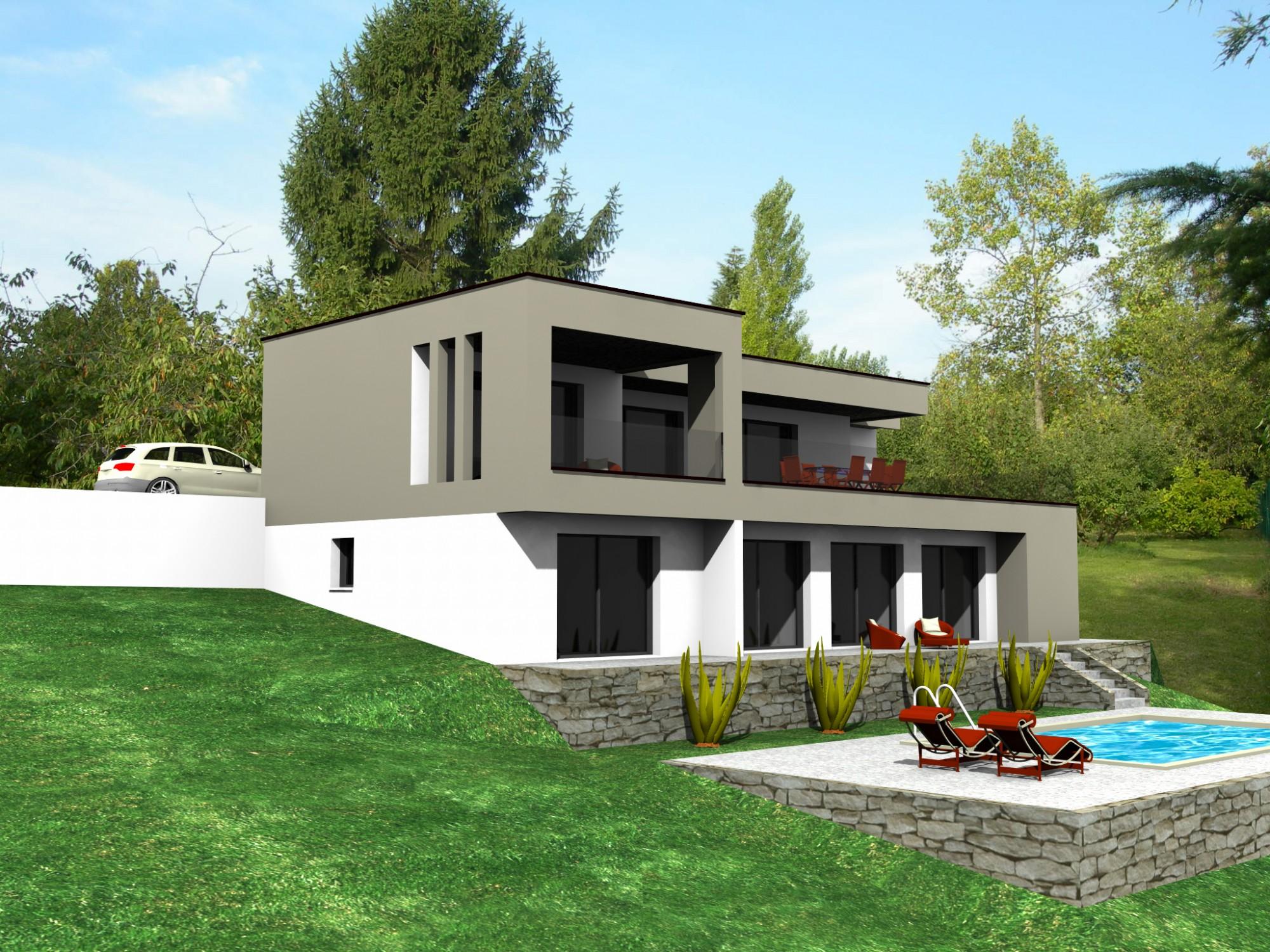 Faire Construire Une Villa Sur Mesure Rhone 69 Concept Creation