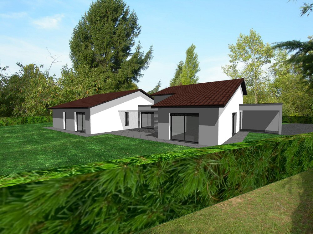 Cr ation plans de maison en 3d ain 01 concept cr ation for Creation maison 3d