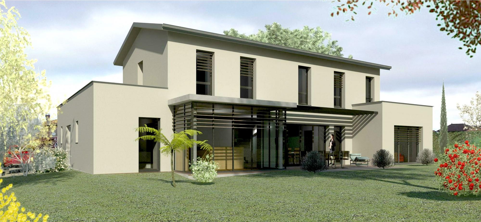 Projet en cours de livraison d 39 une maison semi for Projet maison moderne
