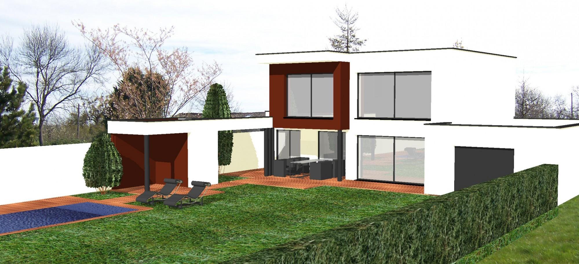 Bureau d 39 tudes avec plans 3d pour projet de construction for Projet terrasse en 3d