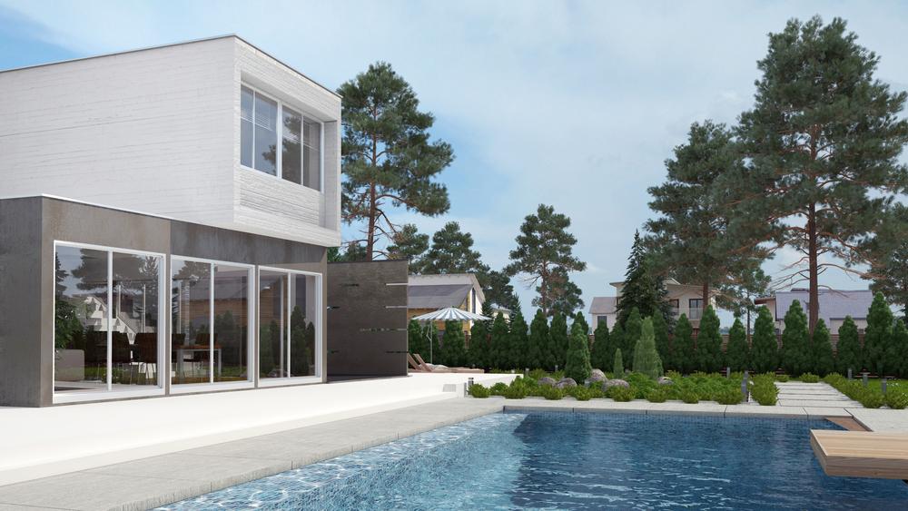 Construction contemporaine bureau d 39 tudes et architectes for Piscine design caluire