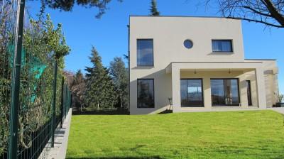 maison contemporaine architecture toit plat ouest lyonnais