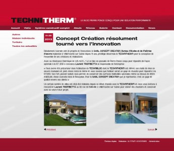 TECHNITHERM l'ISOLATION PERFORMANTE